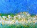 Rêve Bleu, 40X50, 2002.